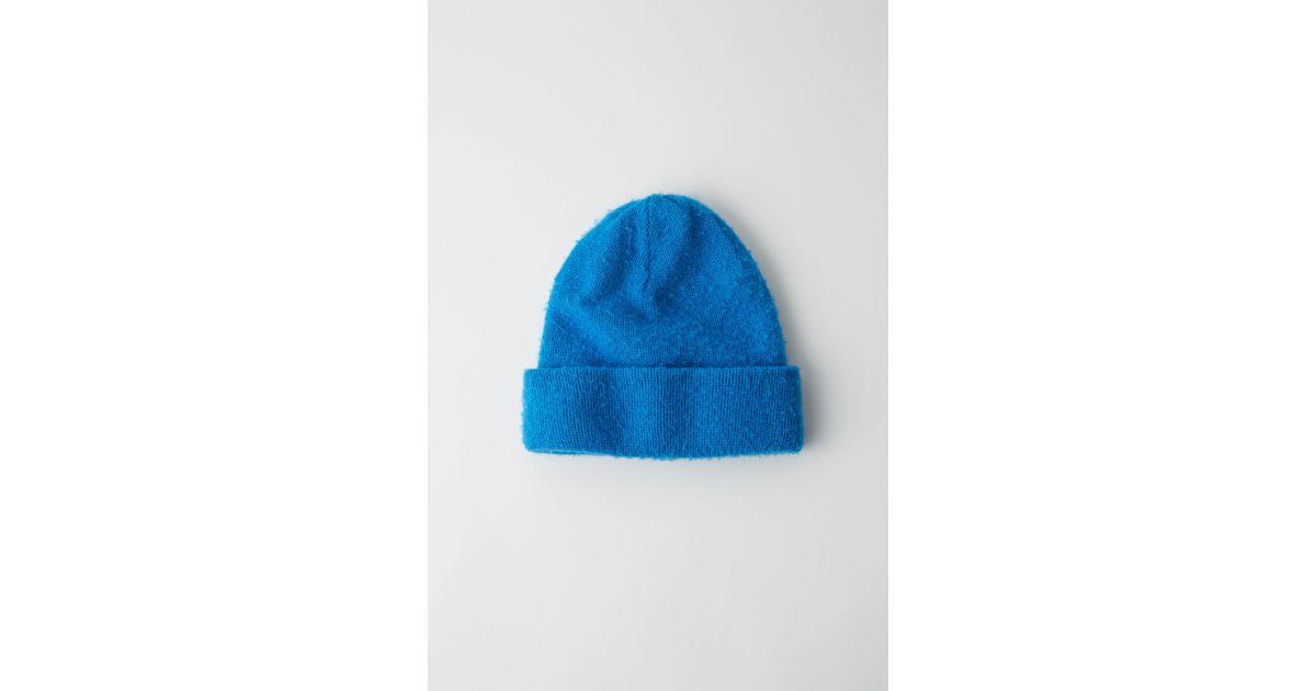 b88b50cc6a8 Lyst - Acne Studios Fn-ux-hats000002 Blue Pilled Beanie in Blue