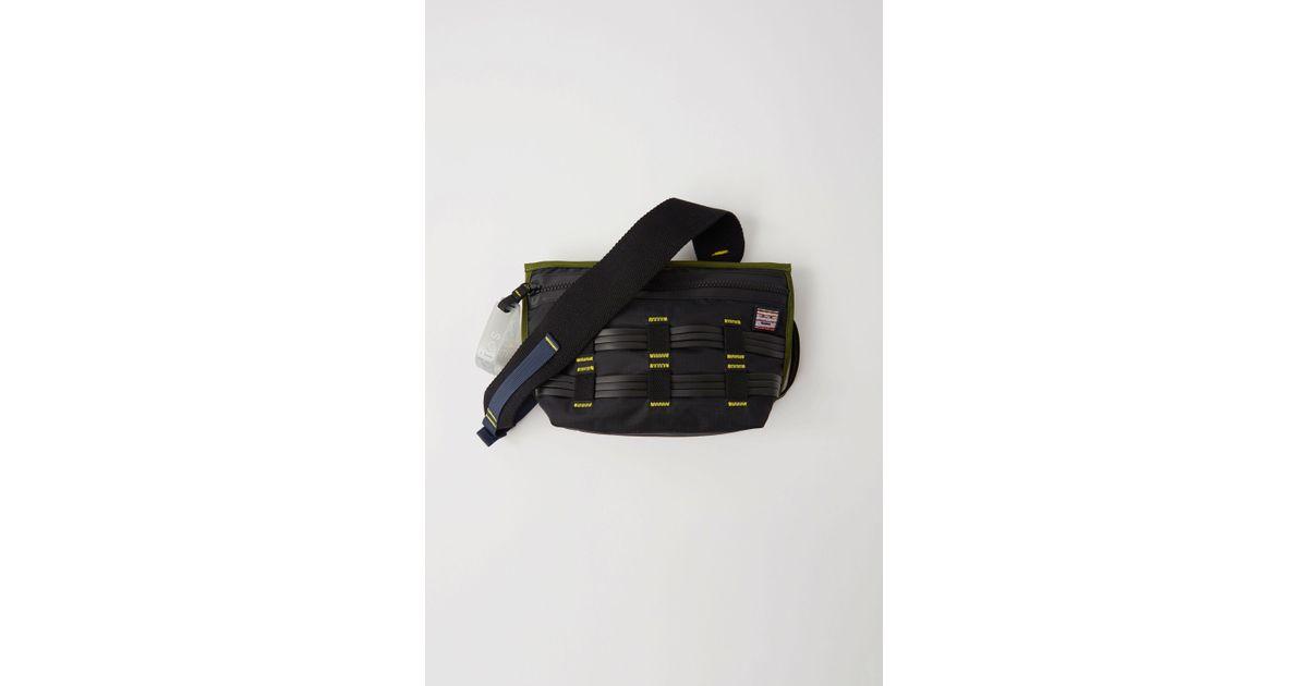 dc523c9ad03662 Acne Studios Fa-ux-bags000002 Black Sporty Bag in Black - Lyst