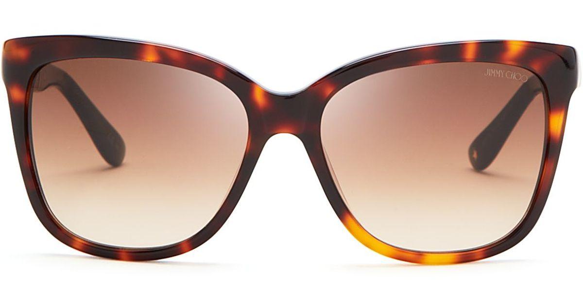 Jimmy Choo Cat Eye Sunglasses