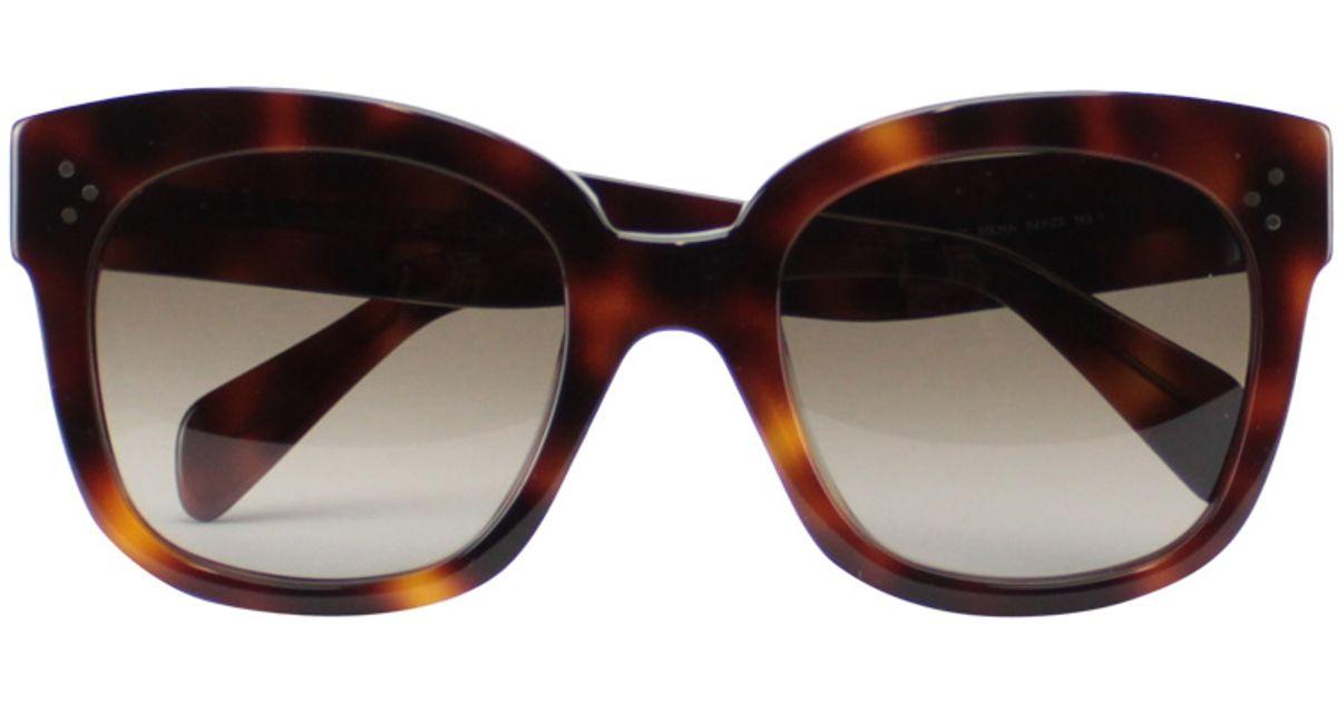 06d000c89fc Celine Audrey sunglasses 🕶 Celine Audrey Havana grey sunglasses Very  cute sunglasses New condition. 100