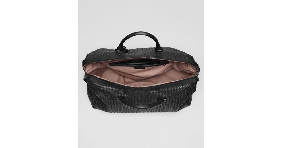 ... Bottega Veneta Nero Intrecciato Vn Large Duffel in Black for innovative  design 5f06d 3d58b ... 2ef923bf4149e