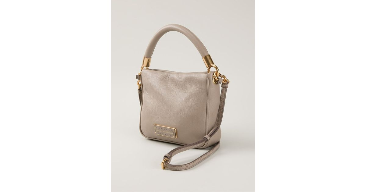 a435007f540b Lyst - Marc By Marc Jacobs  Too Hot To Handle Hoctor  Crossbody Bag in  Natural