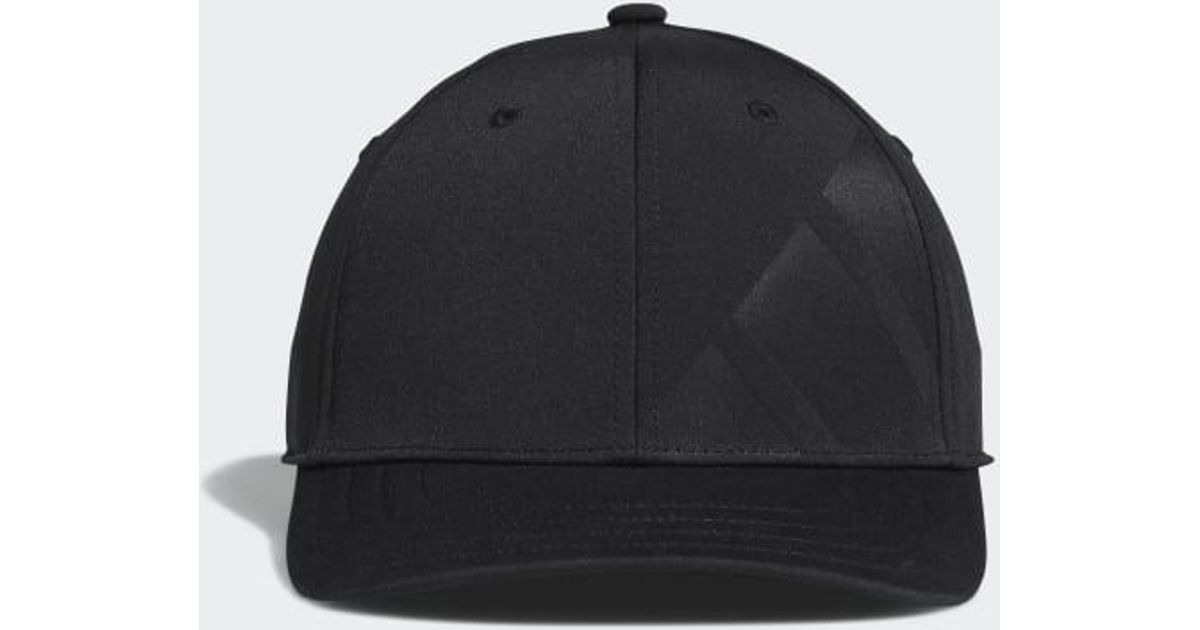 361688bc adidas A-stretch Bold Stripe Cap in Black for Men - Lyst