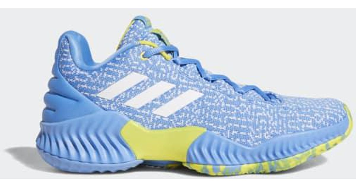 4183b0a9404f2 Lyst - adidas Pro Bounce 2018 Player Edition Low Shoes in Blue for Men