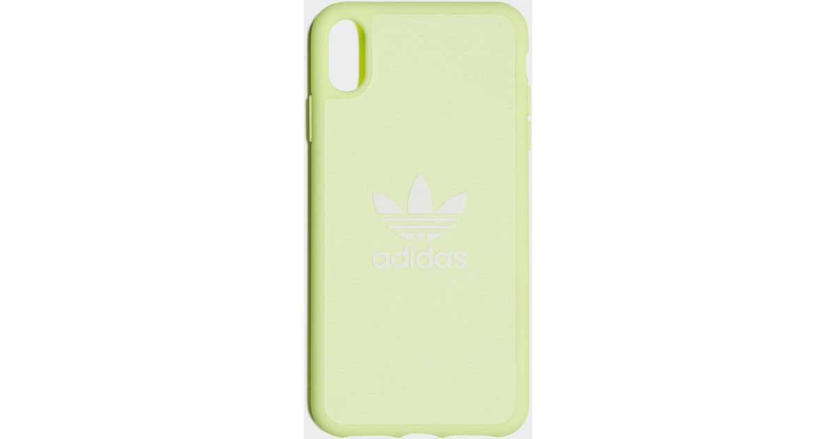 promo code 733f4 e528f adidas Moulded Case Iphone 6.5-inch in Yellow - Lyst