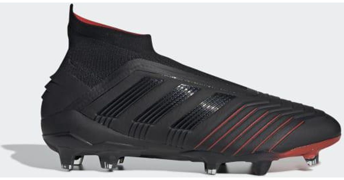 5a44316d516 Lyst - adidas Predator 19+ Firm Ground Cleats in Black