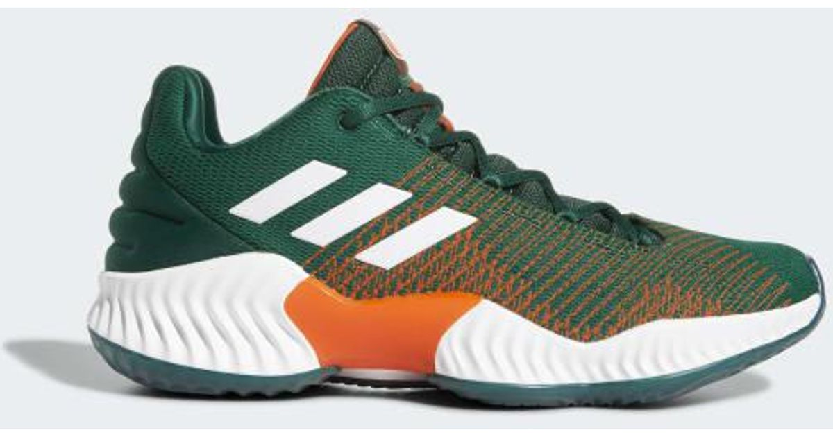 5e6e7686186a73 Lyst - adidas Pro Bounce 2018 Low Shoes in Green for Men