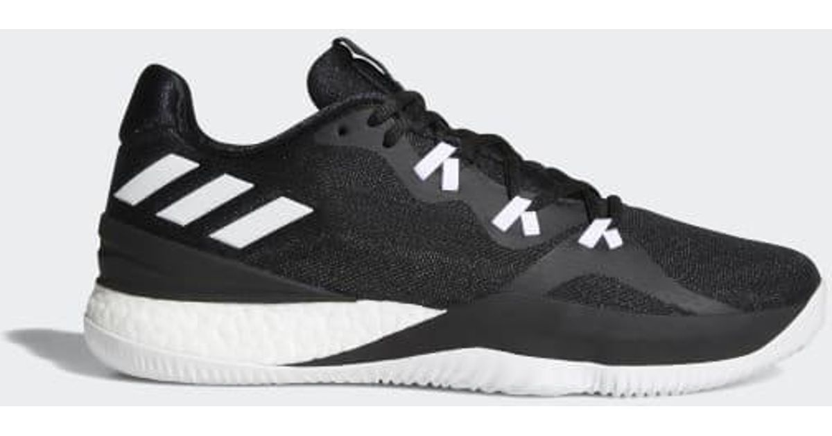 new arrival cfaf4 b8c1d Lyst - adidas Crazylight Boost 2018 Shoes in Black for Men