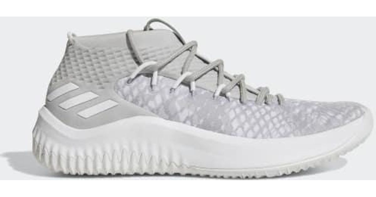 size 40 cdaf9 dad16 Lyst - adidas Dame 4 Shoes in Gray for Men