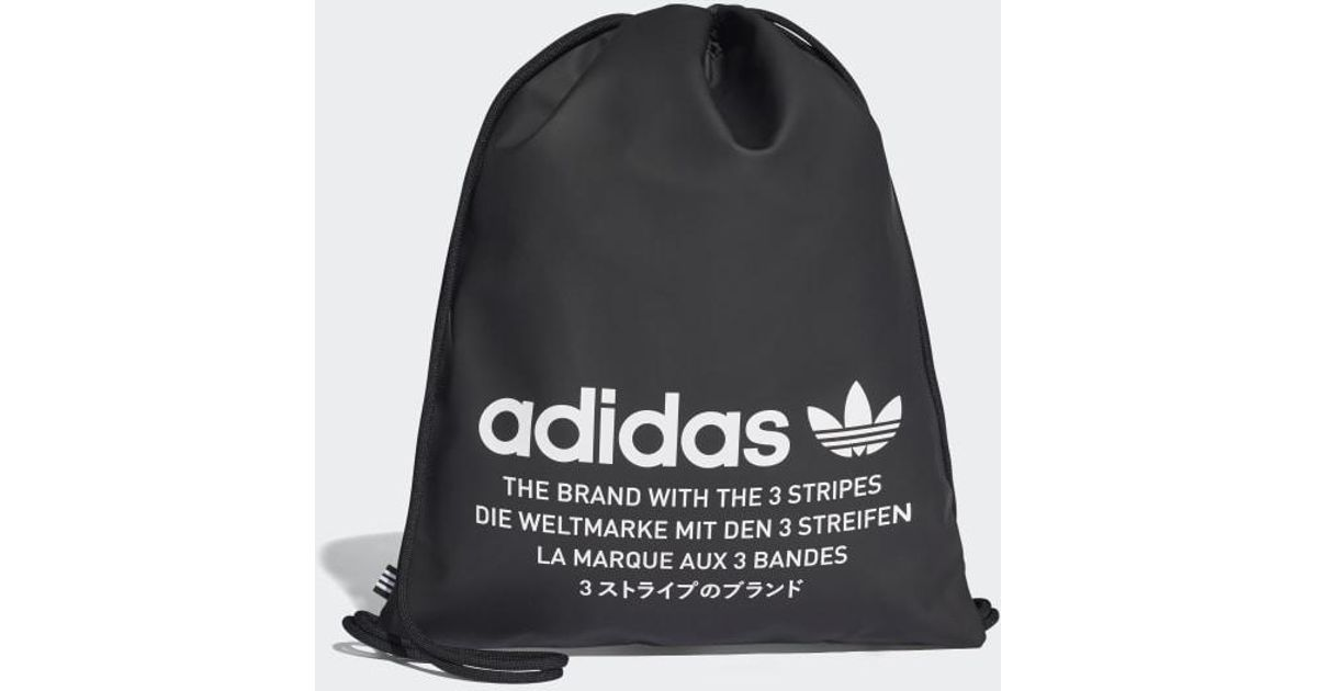 5c28dcbe347e Lyst - adidas Nmd Gym Sack in Black for Men