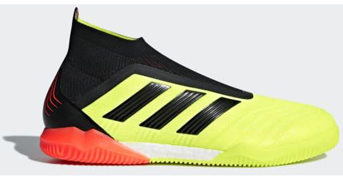 timeless design 6ee61 a4139 Lyst - adidas Predator Tango 18+ Indoor Shoes in Yellow for