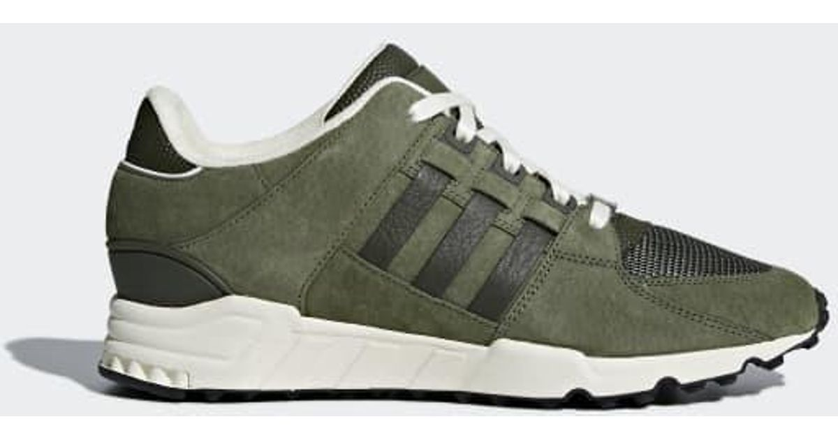 online store 9ddcb 57669 Adidas - Green Eqt Support Rf Shoes for Men - Lyst