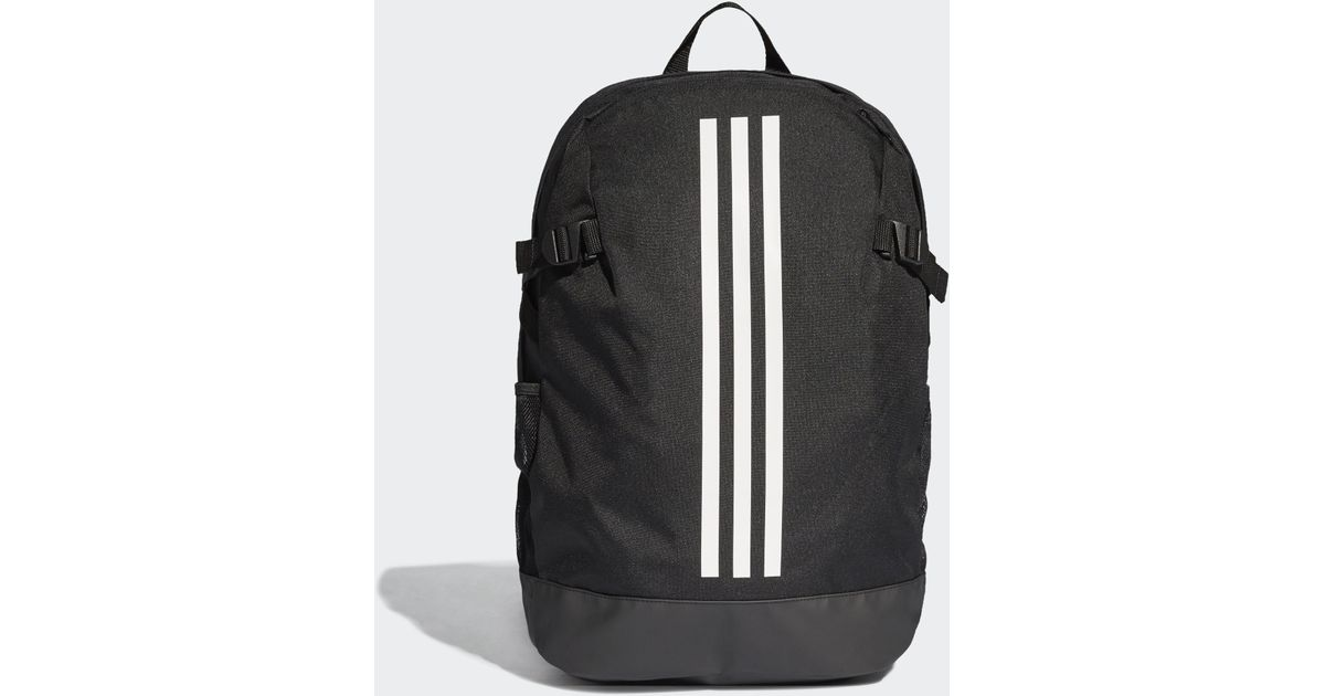 7f521c388123 adidas Power 4 Loadspring Backpack in Black for Men - Lyst