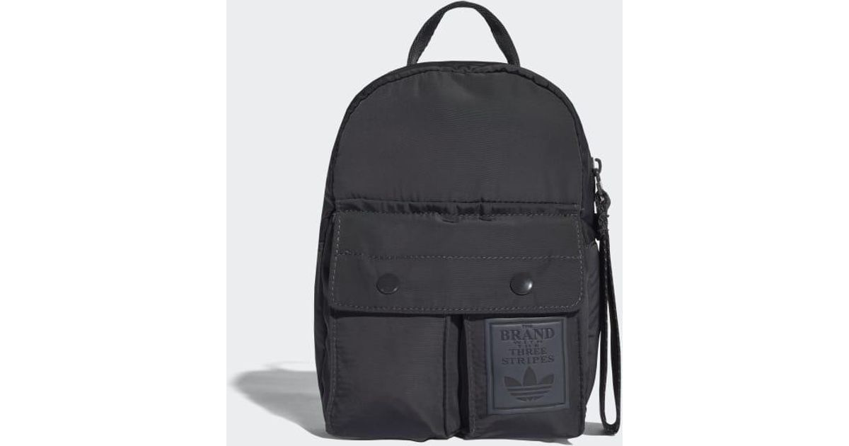 1a87931bd709 Lyst - adidas Mini Classic Backpack in Gray