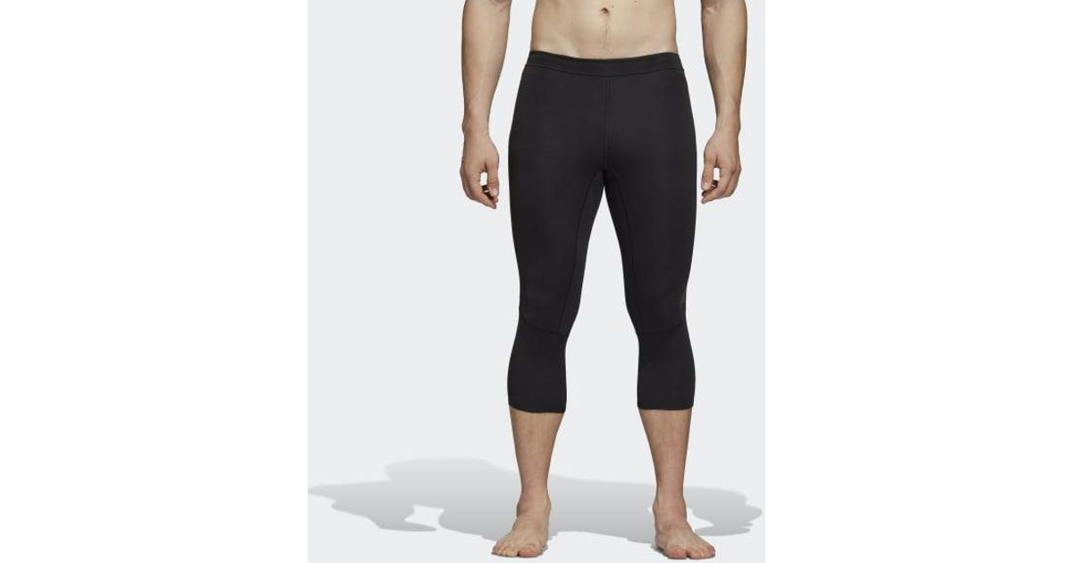baa46559c1439 Lyst - adidas Supernova Tights in Black for Men