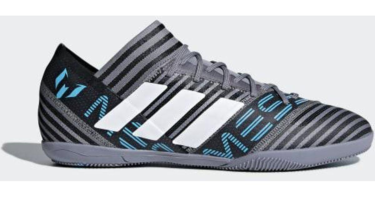 b57ff3787 ... lyst adidas nemeziz messi tango 17.3 indoor shoes in gray for men