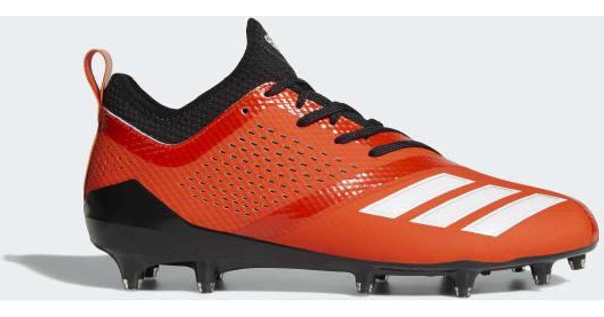 6a1ac1d8fe2 Lyst - adidas Adizero 5-star 7.0 Cleats in Orange for Men