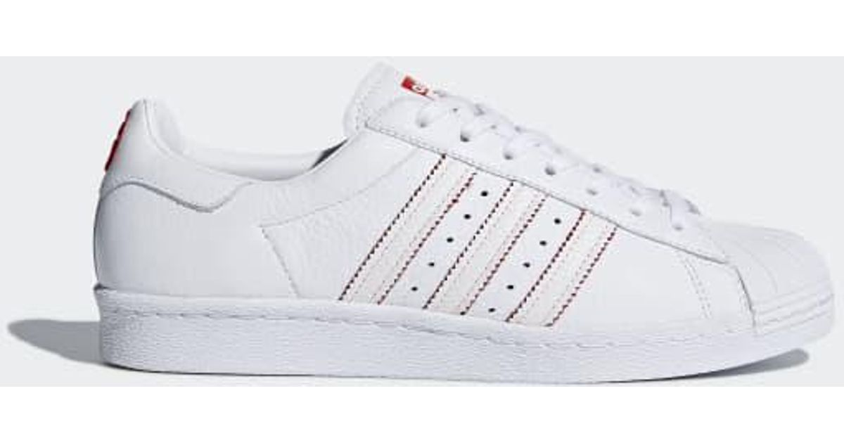 uk availability 38368 4cc1f Adidas - White Superstar 80s Cny Shoes for Men - Lyst
