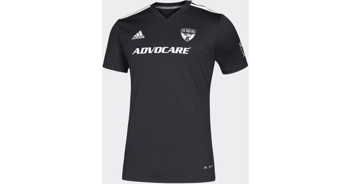 online retailer e8a80 abf1e Adidas Black Fc Dallas Parley Jersey for men