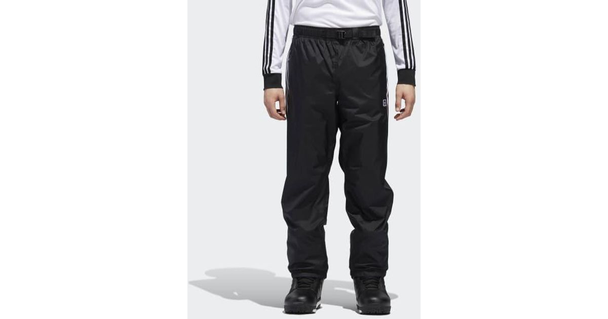 6f15edd3 adidas Slopetrotter Pants in Black for Men - Lyst