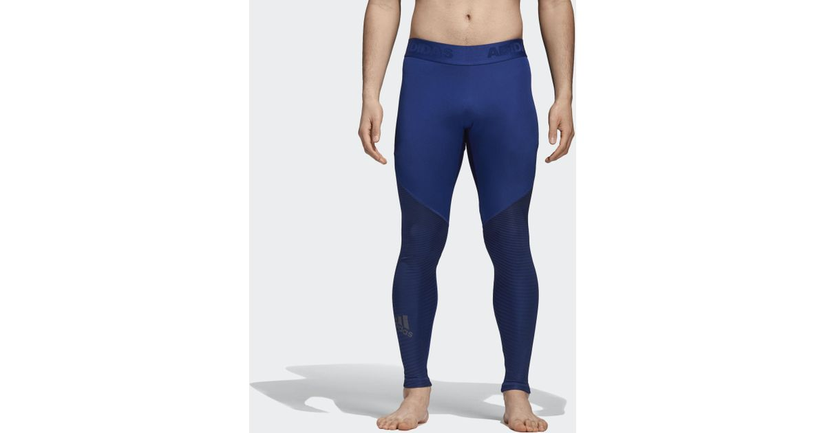 eda47dd17e Lyst - adidas Alphaskin Sport Graphic Long Tights in Black for Men
