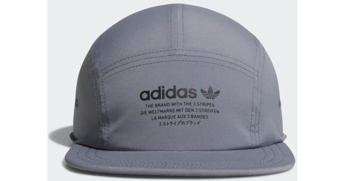 Lyst - Adidas Nmd 5-panel Hat in Gray for Men 52e3571f8ae