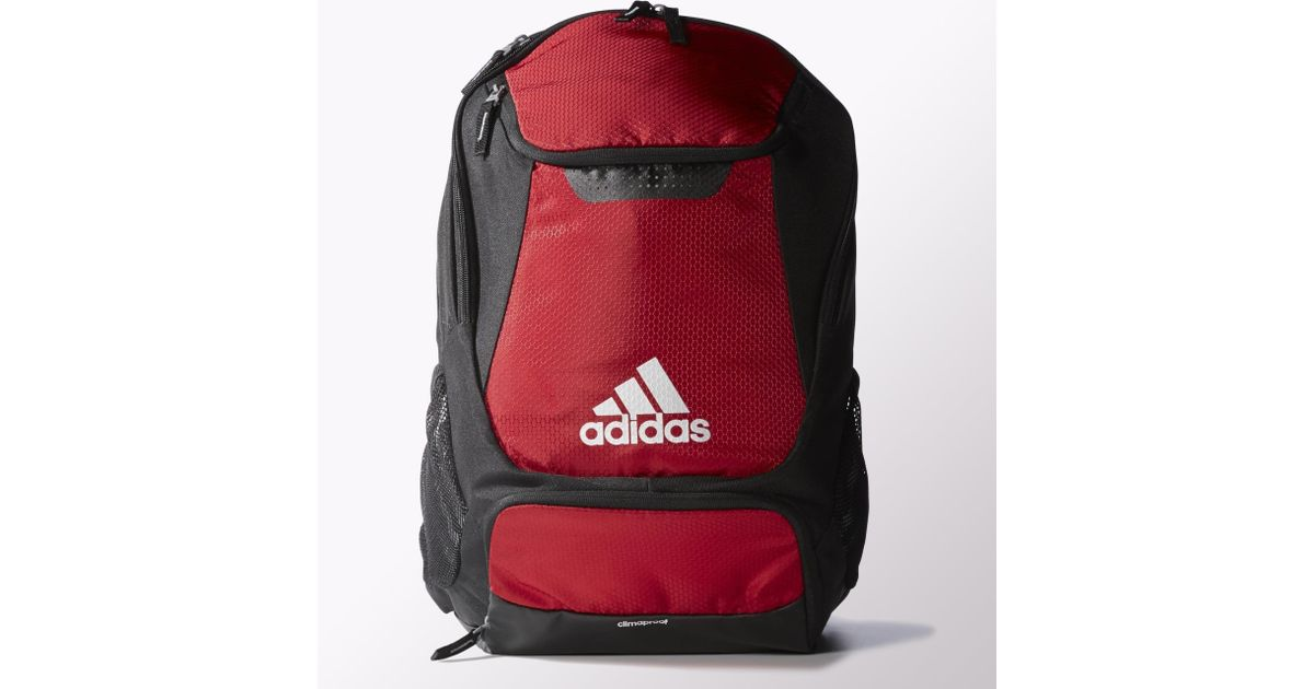 5447d80f5f Lyst - adidas Stadium Team Backpack in Red for Men