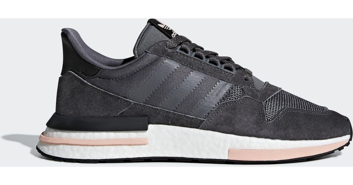 new concept 38e0a 861b4 Adidas - Gray Zx 500 Rm Shoes - Lyst