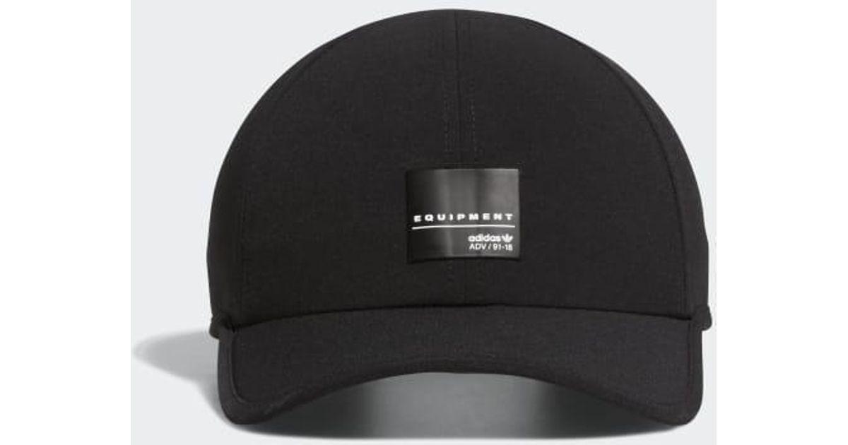 Lyst - adidas Eqt Trainer 2 Hat in Black for Men 25c2d2ee12e