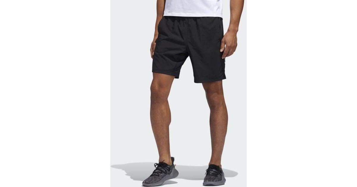 3a89e9d1a3 Adidas - Black 4krft Tech Woven 3-stripes Shorts for Men - Lyst