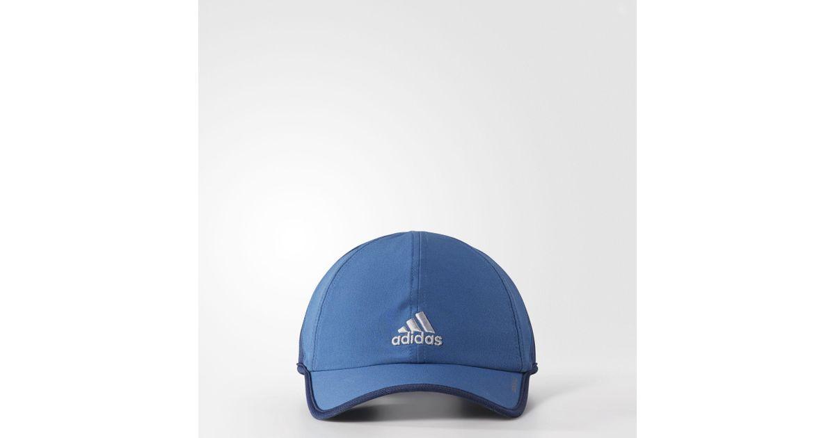 Lyst - adidas Adizero 2 Cap in Blue for Men cabf2a50a67