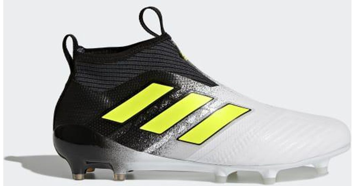 the latest f608f 22f8a Lyst - adidas Ace 17+ Purecontrol Firm Ground Cleats in Whit