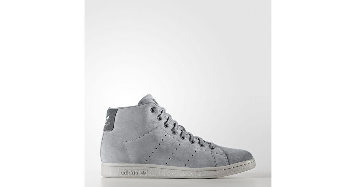 heren Smith voor Stan in Mid Adidas Lyst grijs schoenen 8BF1Pnx