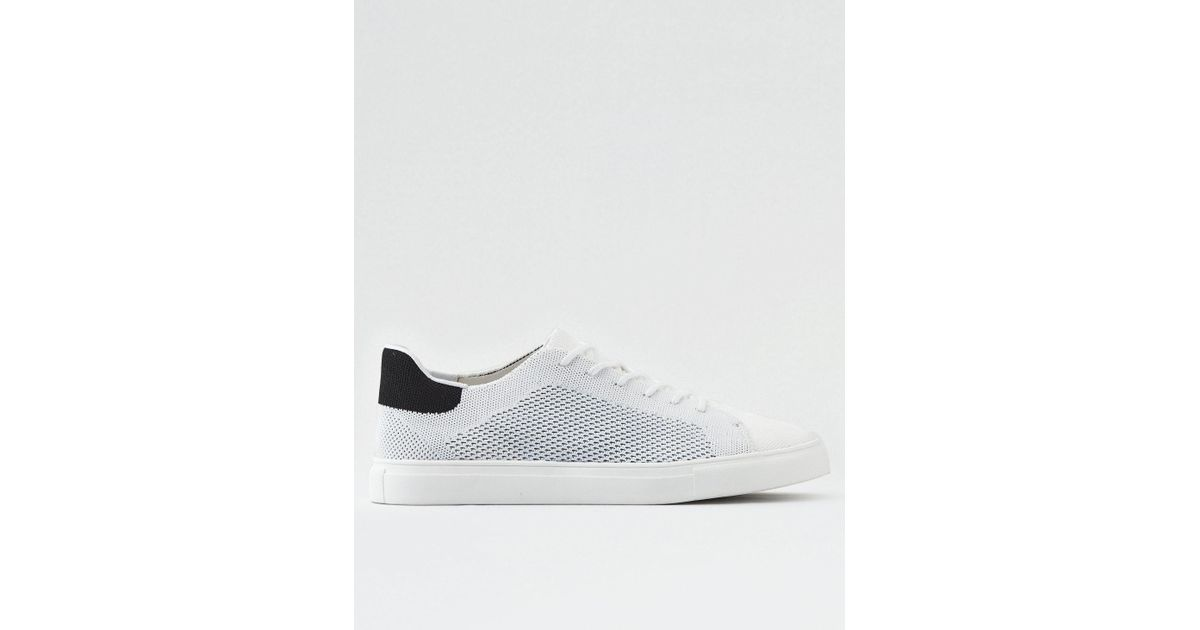 Lyst - American Eagle X-ray Knit Club Sneaker in White for Men 8cd2dcd510d
