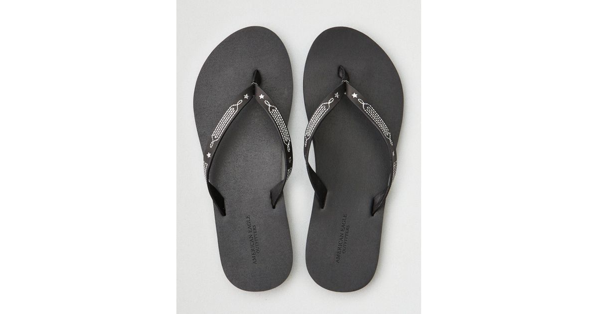 fashionable cheap sale from china AE Western Leather Flip Flop dHzkPEkdly
