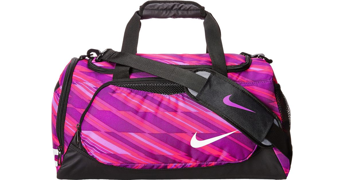 Lyst - Nike Young Athletes Team Training Small Duffel in Purple 2bac51b5625a1