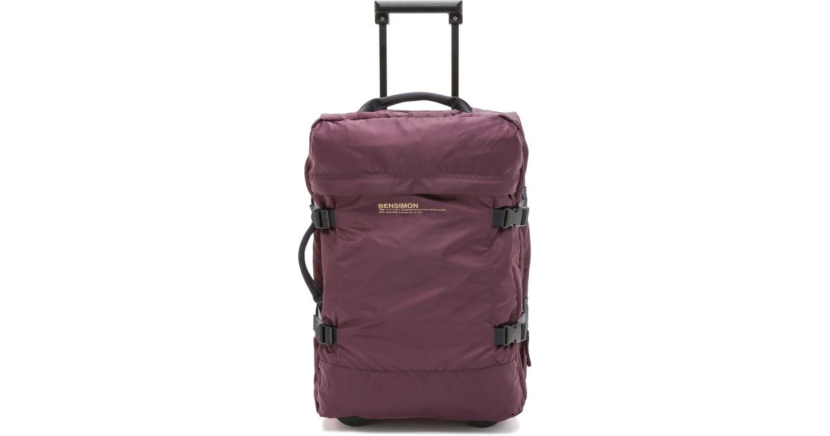Lyst - Bensimon Roller Luggage Case - Prune in Purple