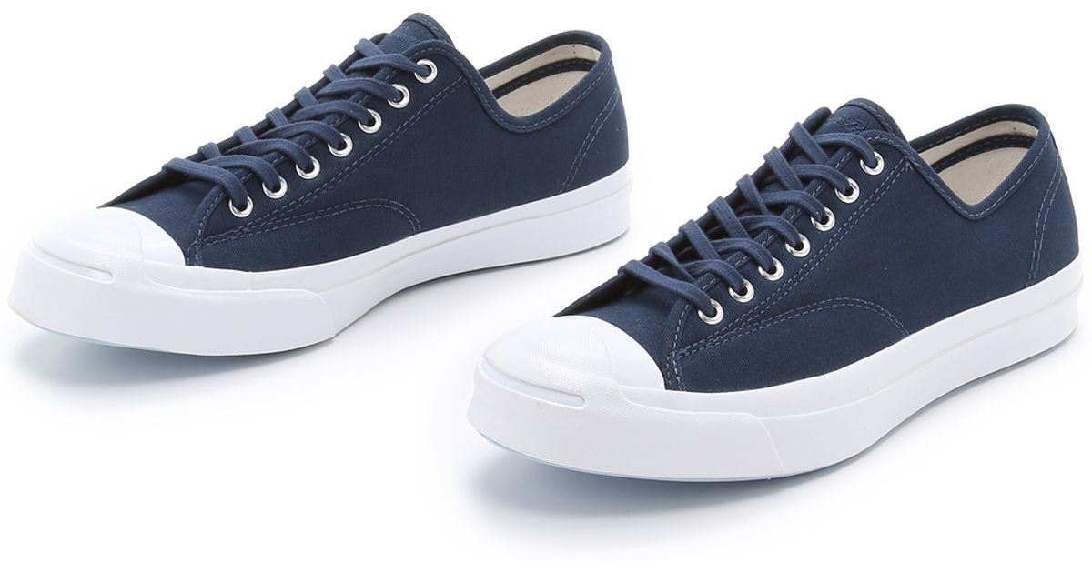 a475d75b7504 Converse Jack Purcell Signature Jungle Cloth Sneakers in Blue for Men - Lyst