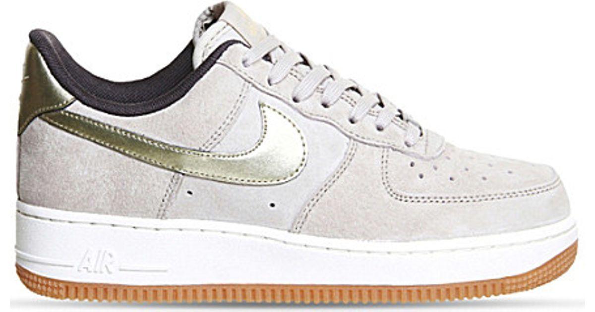 Nike Air Force 1 Low 07 White Metallic Gold