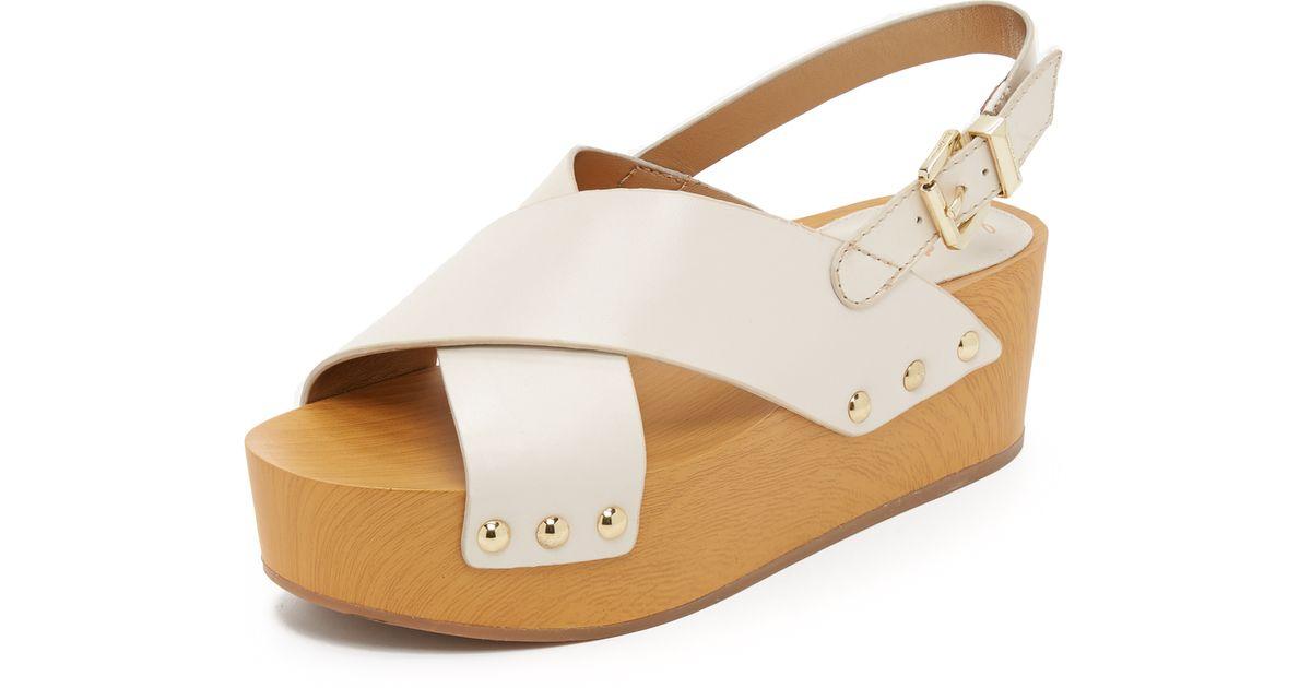 3d6b5da1feb11 Lyst - Sam Edelman Bentlee Flatform Sandals