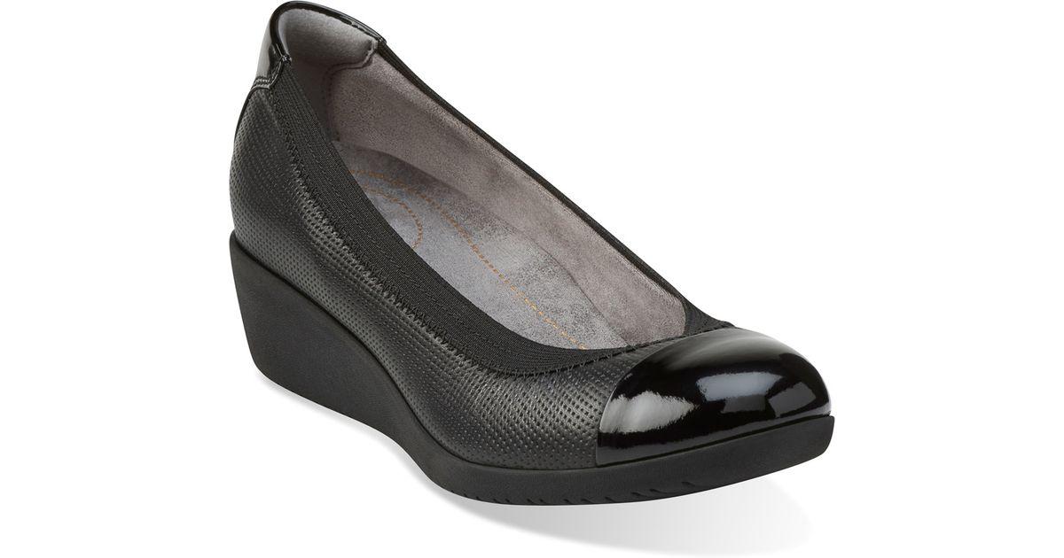 52ce8a80ce41 Lyst - Clarks Petula Sadie in Black