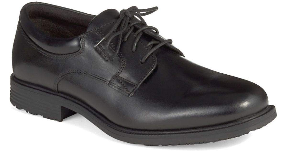 Rockport Mens Essential Details Waterproof Apron Toe Lace Up Shoes