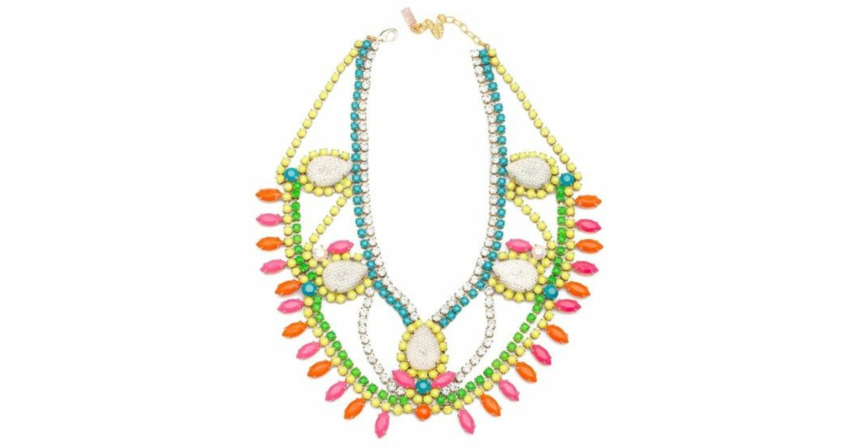 Doloris Petunia Santa Monica Necklace In Multicolor Lyst
