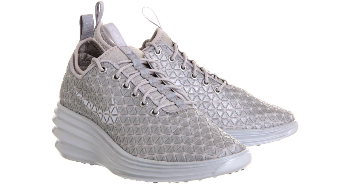 huge selection of 303e0 442d9 ... discount lyst nike lunar elite sky hi in metallic e28ed f0dd2