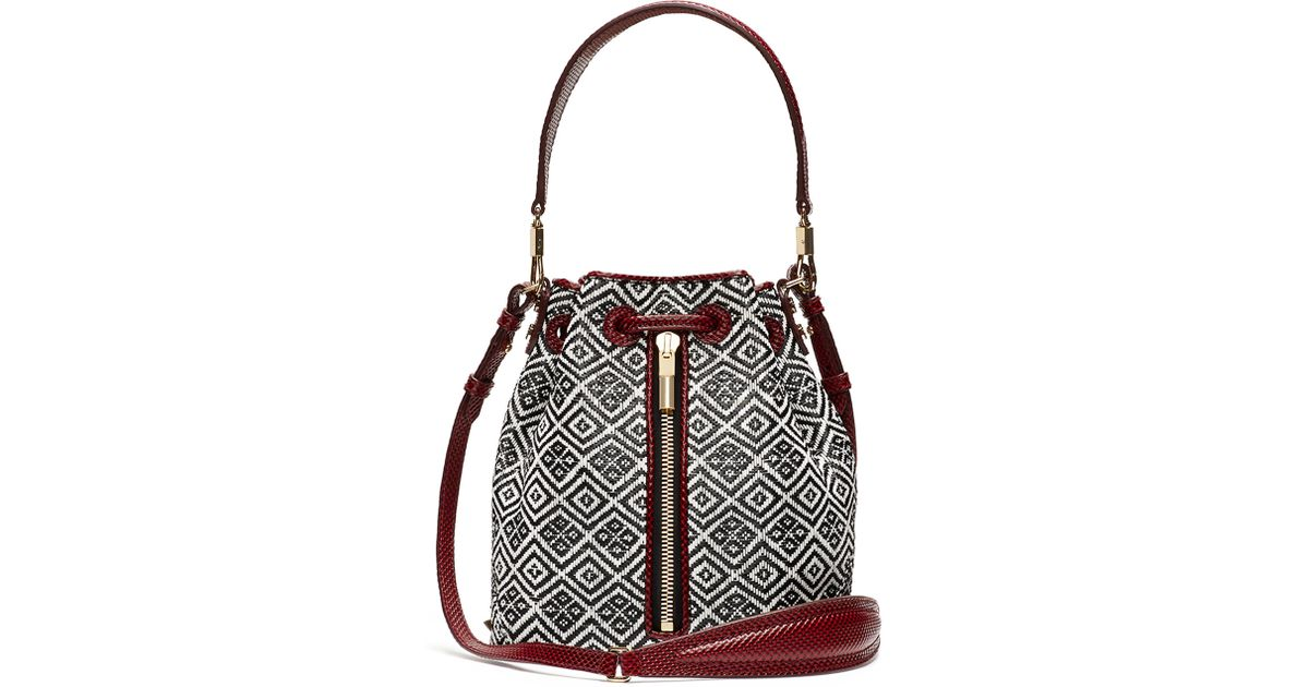 Elizabeth and James Woven Convertible Shoulder Bag Cheap Sale For Cheap AOTDIa