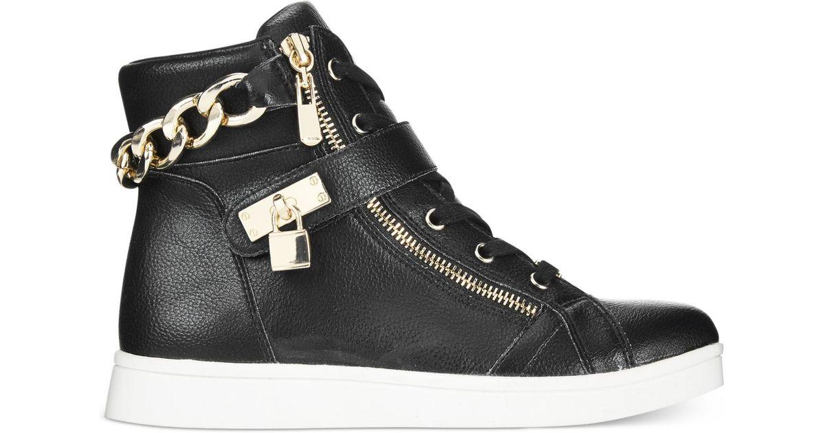 Bebe Sport Kandee High Top Sneakers In Black Lyst