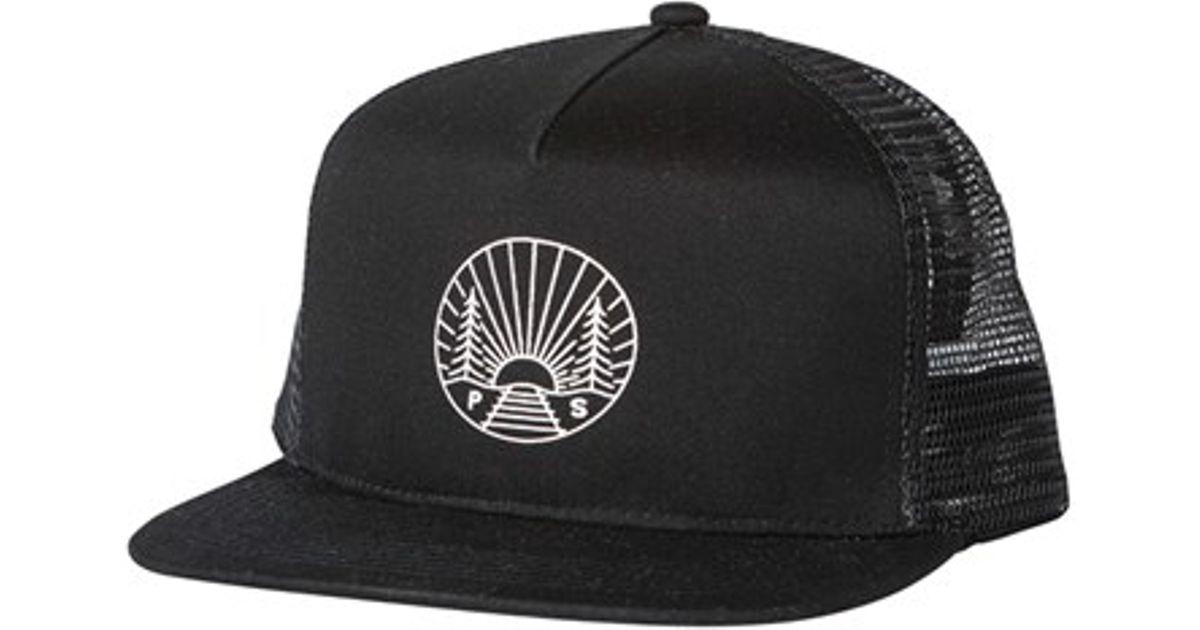 Lyst - Poler Stuff  camp Vibes  Trucker Cap in Black for Men 8174109706c