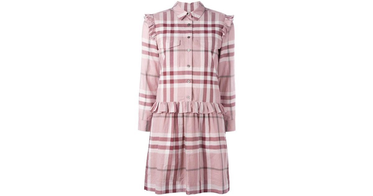 Women's Pink 'house Check' Dress
