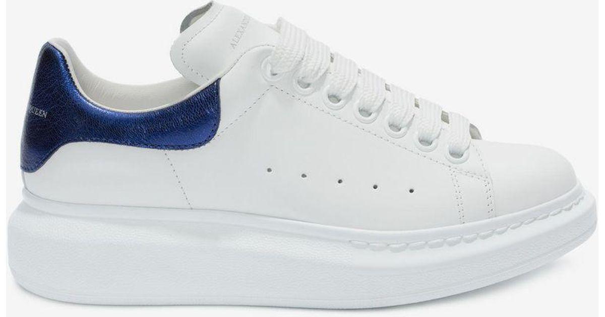 Lyst Alexander Mcqueen Oversized Sneaker In Blue For Men