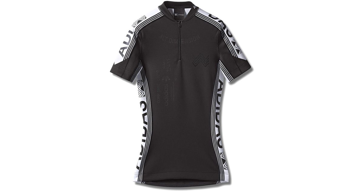 b0c1ef44 Alexander Wang Adidas Orignals By Aw Cycling Jersey in Black for Men - Lyst
